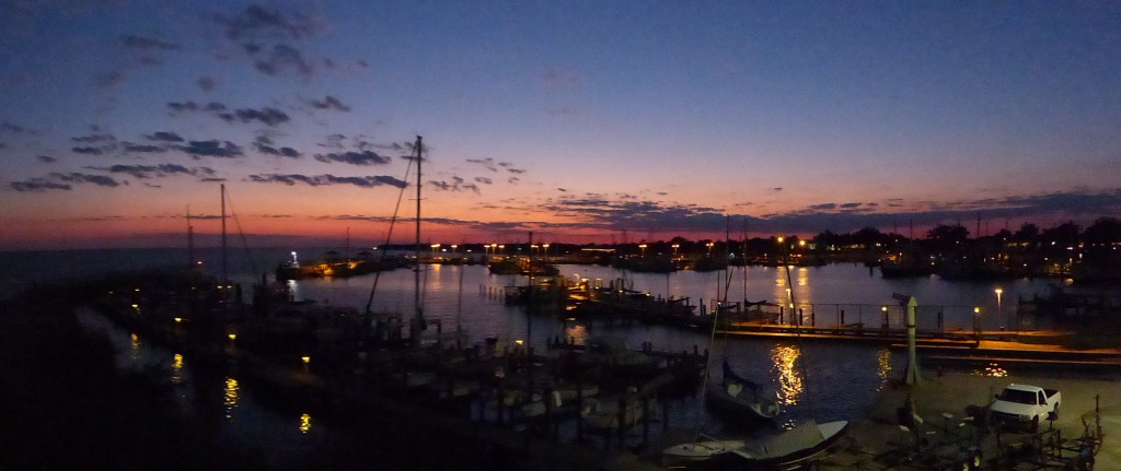 Pass Christian Harbor Sunset
